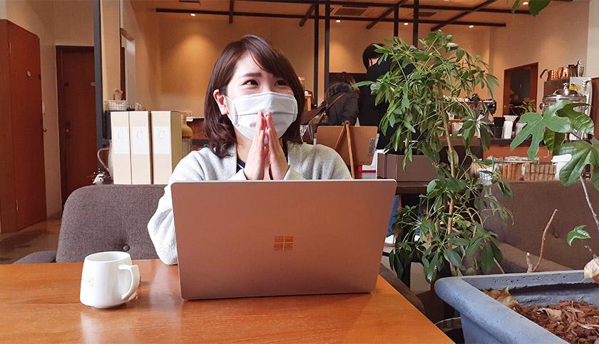キャリア支援ママブロガー「yukosan」との対談の様子